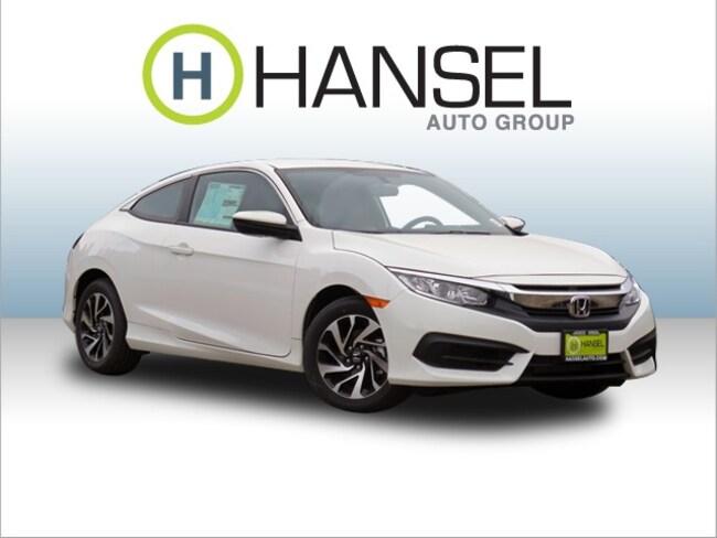 New 2017 Honda Civic LX Coupe For Sale in Petaluma, CA