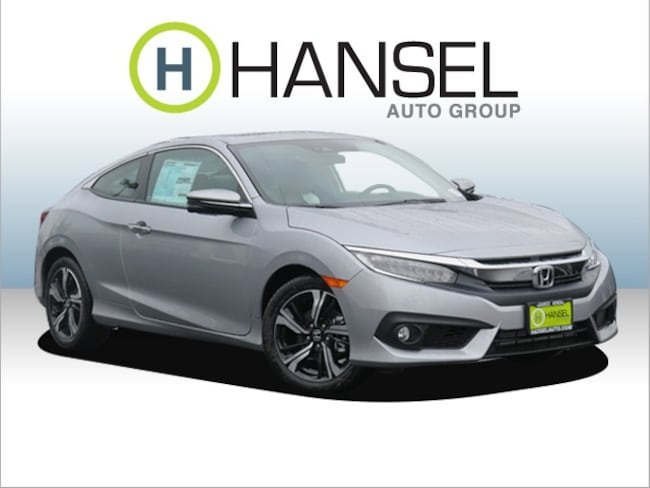 New 2017 Honda Civic Touring Coupe For Sale in Petaluma, CA