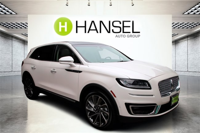New 2019 Lincoln Nautilus Reserve SUV For Sale in Santa Rosa, CA