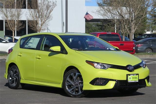 toyota corolla green 2018. New 2018 Toyota Corolla IM Base Hatchback For Sale In Petaluma, CA Green