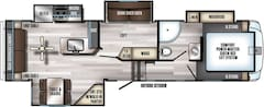 2018 Arctic Wolf 295 QSL8 New Bunk Room Plan !!