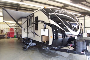2017 BULLET Premier 26 RBPR Outside Kitchen ! Price Reduced !!