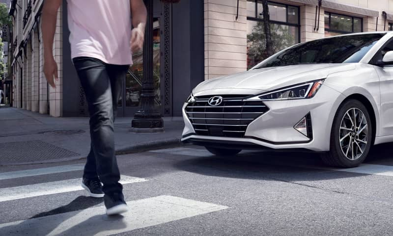 forward collision avoidance assist in 2019 Hyundai Elantra