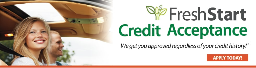 Fresh Start Credit Acceptance - APPLY TODAY!