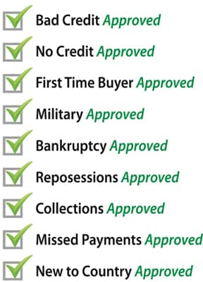 We accept many credit situations