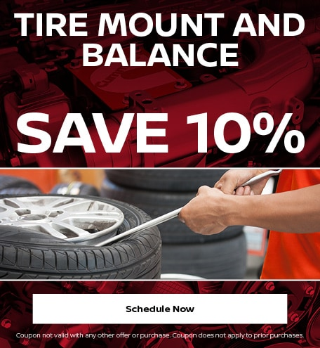Tire Mount and Balance