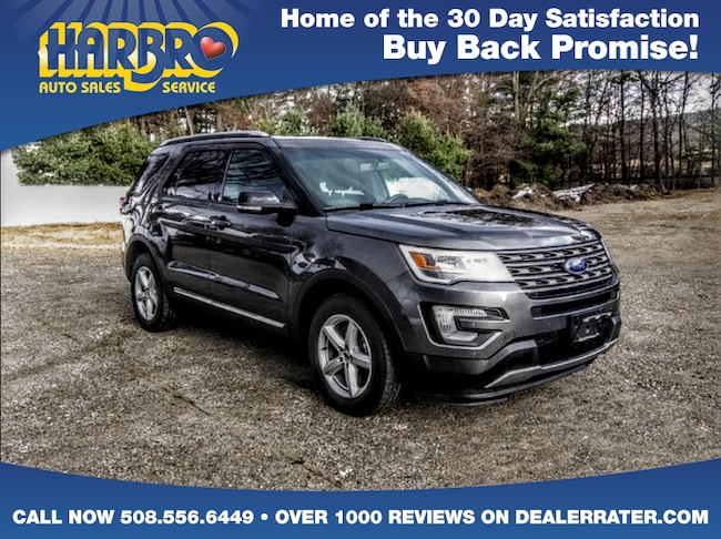 2016 Ford Explorer XLT w/Leather Sun Roof Navigation Low Miles SUV