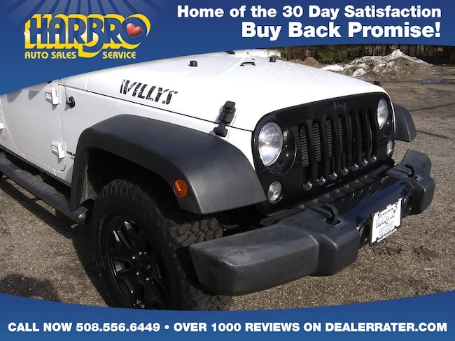 ecd358f43519f ... 2016 Jeep Wrangler Unlimited Willys Wheeler 4x4 Like New SUV ...