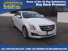 2015 Cadillac ATS Sedan AWD w/Leather Sun Roof Pearl White Car