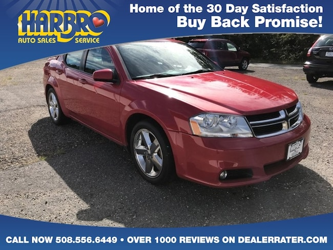 2012 Dodge Avenger SXT Plus w/V6 Heated Seats Touch Screen Radio Car