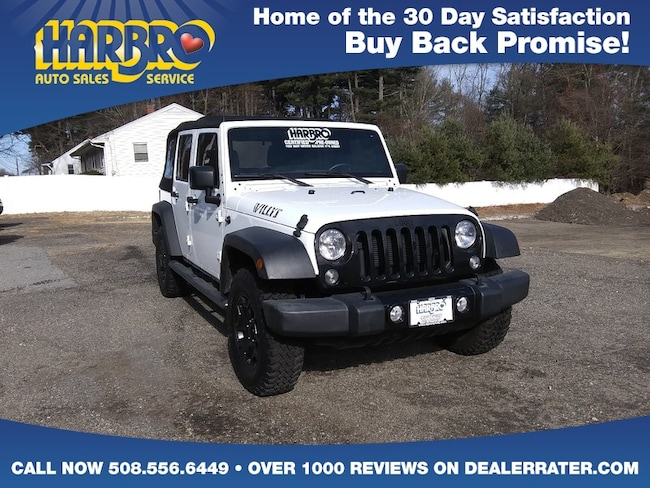 365a9105dac17 2016 Jeep Wrangler Unlimited Willys Wheeler 4x4 Like New SUV