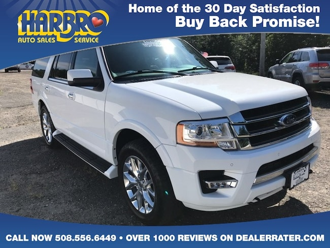 2017 Ford Expedition Limited 4x4 w/Leather Navigation Tow Ecoboost SUV