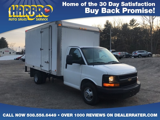 2014 Chevrolet Express Commercial Cutaway w/15 Foot Dejana Box Commercial