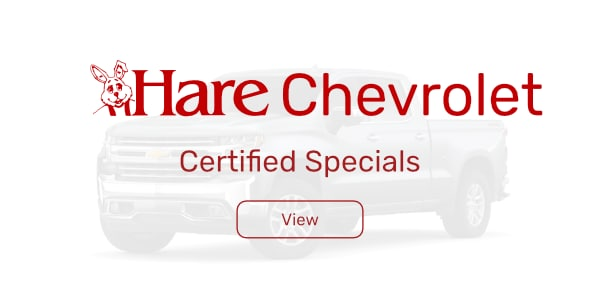 Certified Pre Owned Specials