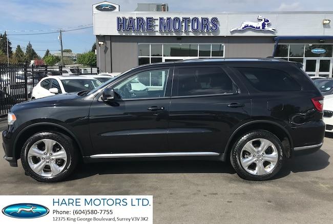 2015 Dodge Durango Limited w / Navi , Rear Cam , Roof & DVD's SUV