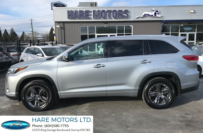 2018 Toyota Highlander Limited w / Navi , Backup Cam & Pano Roof SUV