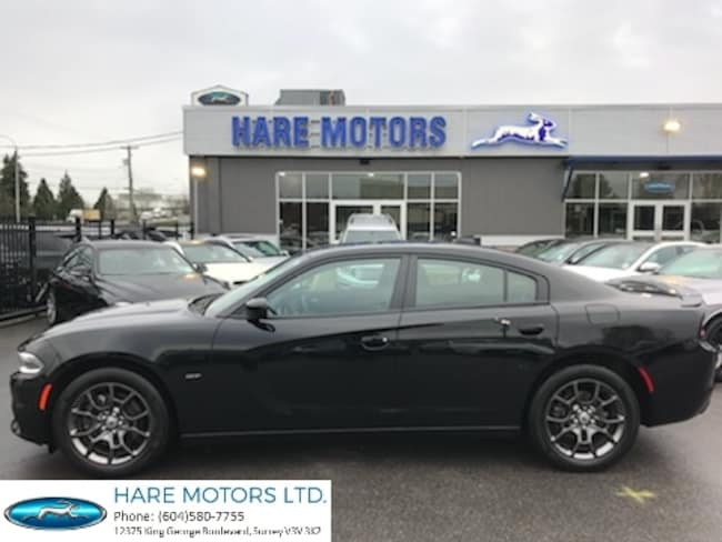 2018 Dodge Charger GT AWD w / Navigation Syetm & Backup Cam & Sunroof Sedan