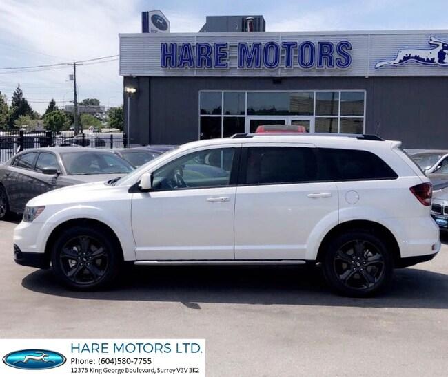 2018 Dodge Journey Crossroad w / Navi , Backup Cam , DVD's & Roof  SUV