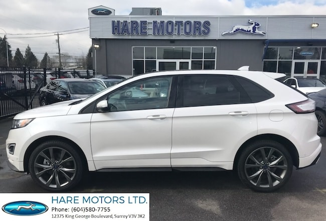 2018 Ford Edge Sport w / Navigation, Backup Cam & Pano Roof SUV