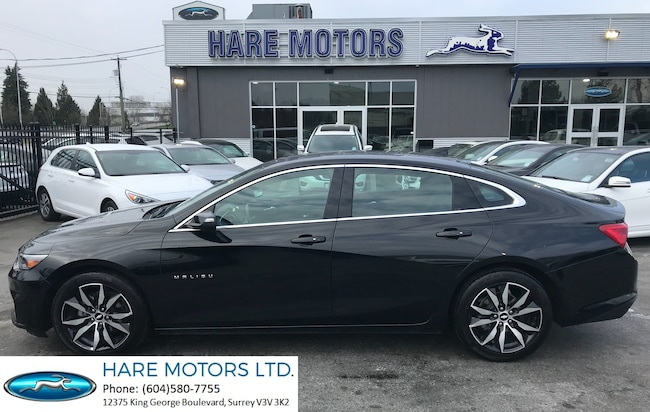 2018 Chevrolet Malibu LT w / Navigation , Backup Cam & Pano Roof Sedan