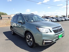 Certified Used 2018 Subaru Forester 2.5i Premium SUV JF2SJAGC8JH580792 For sale in Hermiston OR, near Pasco WA.