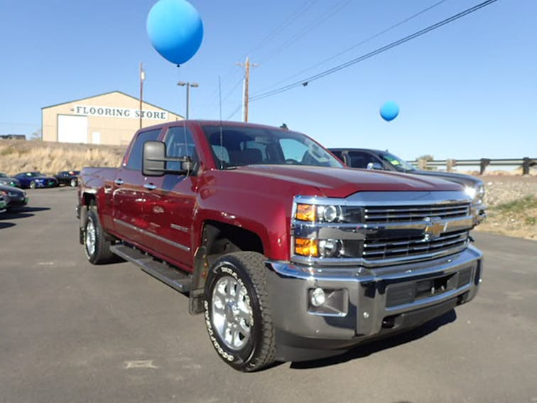 Used 2015 Chevrolet Silverado 3500HD LTZ Truck Crew Cab in Hermiston