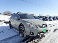 Certified Used 2017 Subaru Crosstrek 2.0i Premium SUV JF2GPADC2H8271001 For sale in Hermiston OR, near Pasco WA.