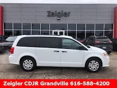 New Chrysler Dodge Jeep Ram 2019 Dodge Grand Caravan SE Passenger Van 2C4RDGBG2KR624373 for sale in Kalamazoo, MI