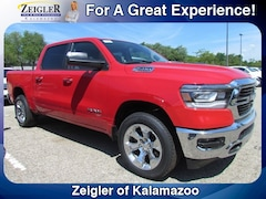 New Chrysler Dodge Jeep Ram 2019 Ram 1500 BIG HORN / LONE STAR CREW CAB 4X4 5'7 BOX Crew Cab 1C6SRFFT8KN536453 for sale in Kalamazoo, MI