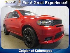 New Chrysler Dodge Jeep Ram 2019 Dodge Durango GT PLUS AWD Sport Utility 1C4RDJDG8KC560942 for sale in Kalamazoo, MI
