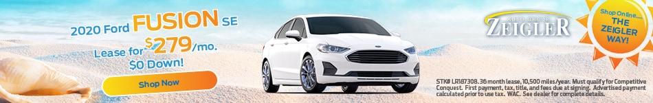 2020 Ford Fusion SE - June 2020