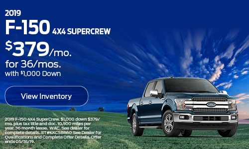 2019 F-150 Supercrew -May