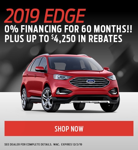 November Ford Edge Special
