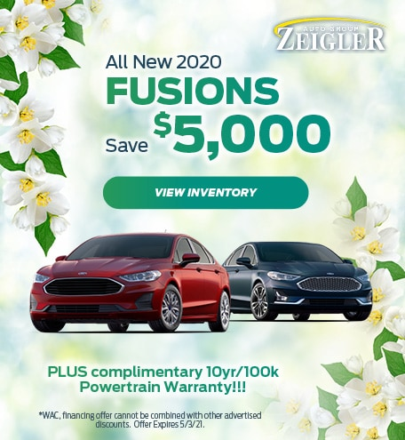 All New 2020 Fusions Save - April