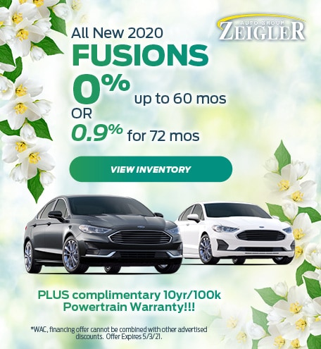 All New 2020 Fusions APR - April
