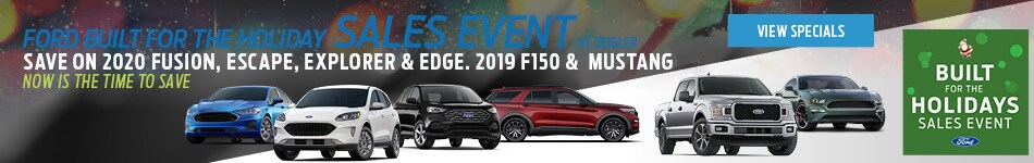 Holiday Sales Event Specials