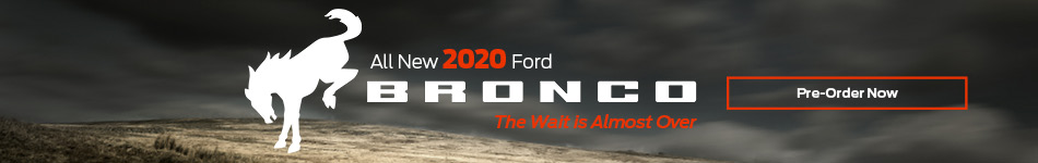 Pre-Order 2020 Ford Bronco