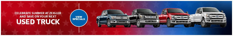 August Used Truck Specials