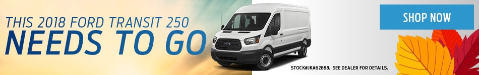 This 2018 Ford Transit 250 Needs to Go