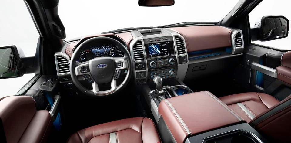 Ford F-150 Interior Space