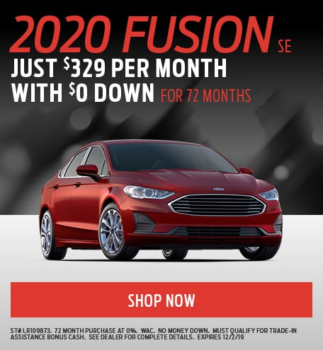 November Ford Fusion Special