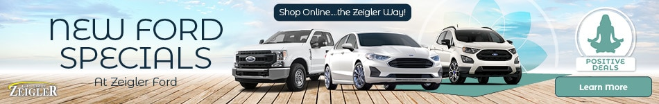 New Ford Specials at Zeigler Ford