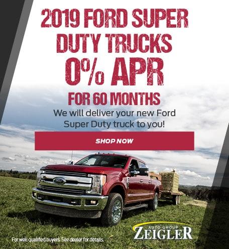 2019 Ford Super Duty Trucks - April 2020