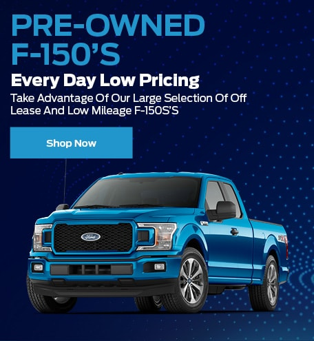 Pre-Owned F-150s - Low Pricing
