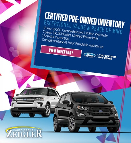 Certified Pre-Owned Inventory July 2020