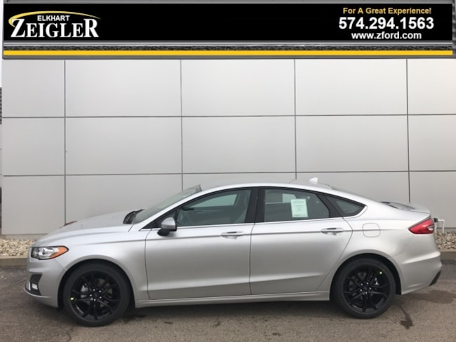 New 2019 Ford Fusion SE Sedan for sale in Elkhart, IN