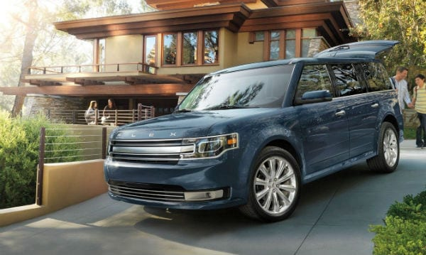 New 2019 Ford Flex in driveway Zeigler Ford Elkhart Nappanee, IN