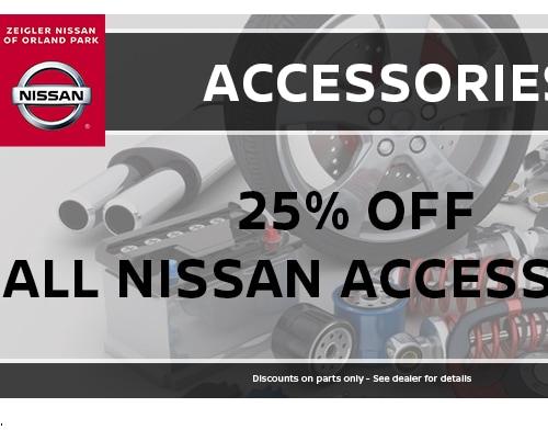 Nissan Parts Specials in Orland Park, IL | Zeigler Nissan