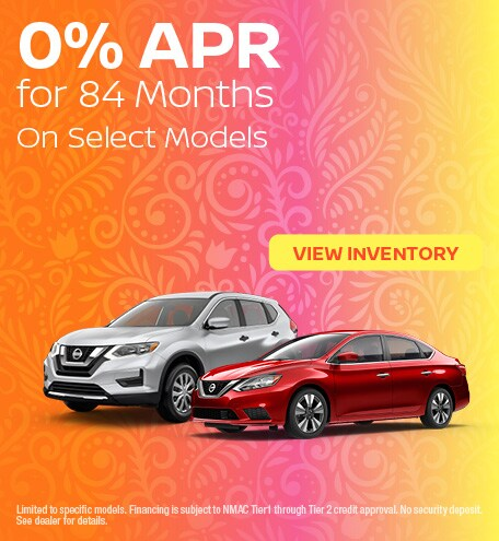 0% APR for 84 Months - June 2020