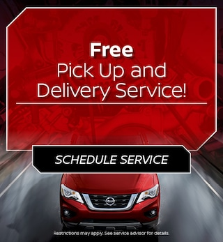 Free Pick Up and Delivery Service!